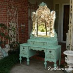 Makeup Vanity Custom Order An Antique Dresser Shabby Chic Painted Distressed Restored Bedroom Furniture Breathtaking