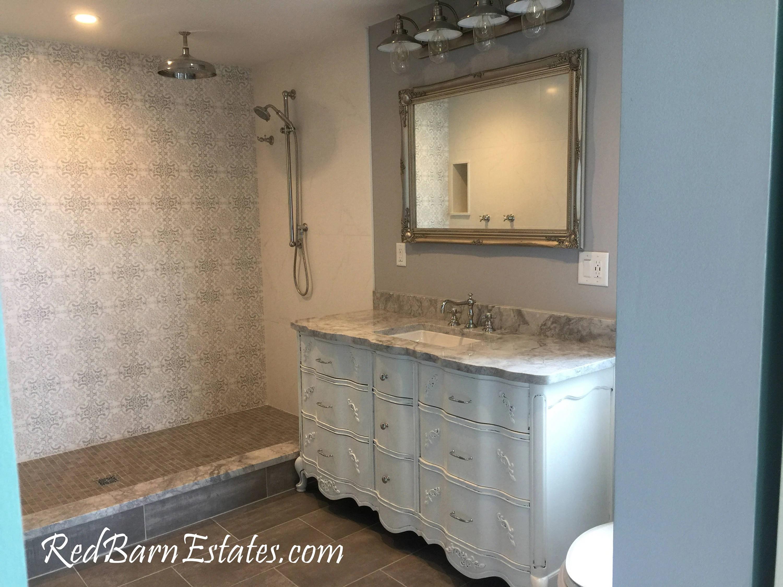 purple makeup vanity chair webbing straps bathroom cabinet we custom convert from vintage