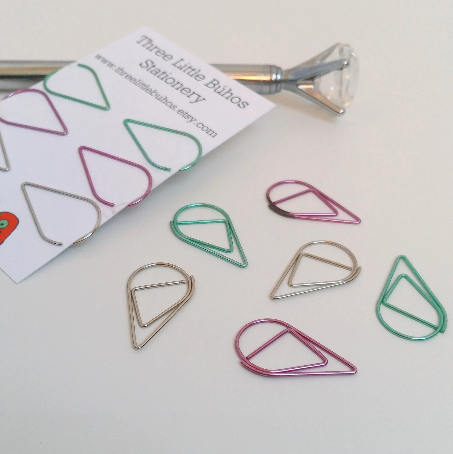 cute paperclips etsy