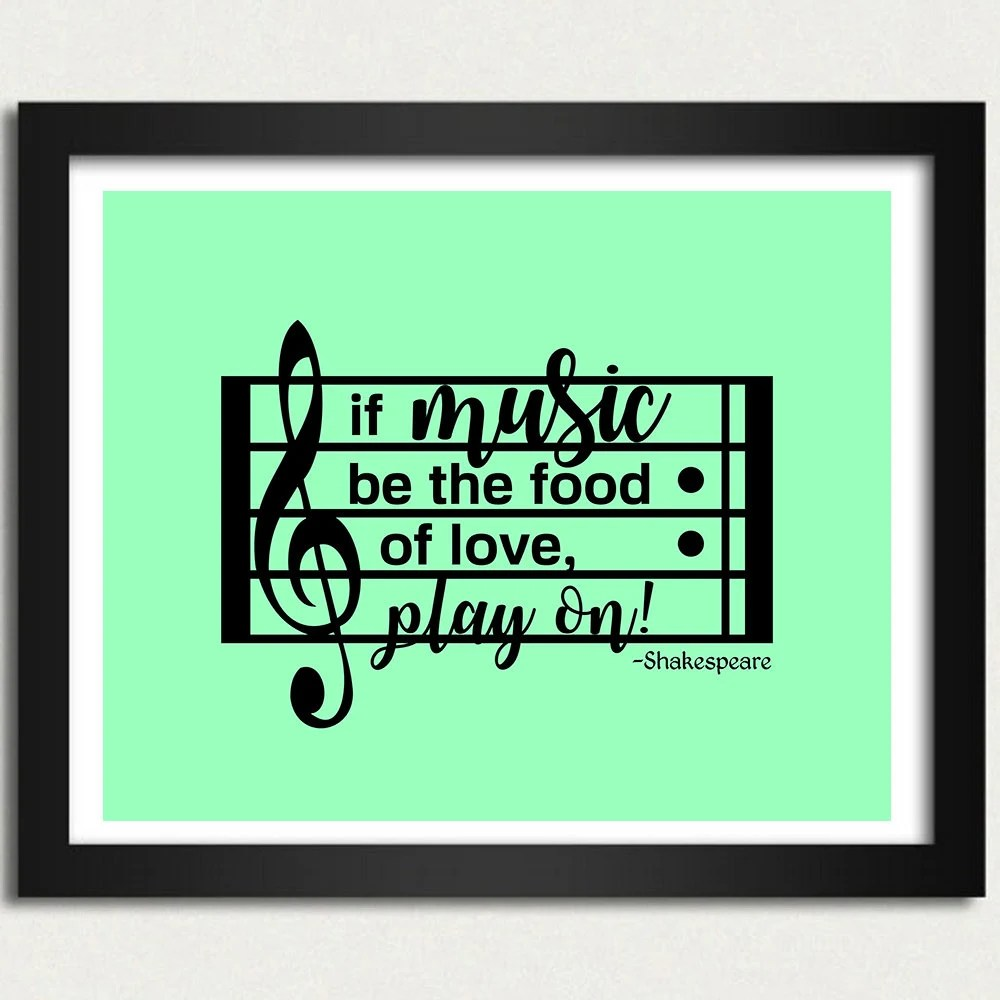 shakespeare quotation inspirational print