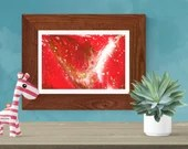 Printable wall art | Abst...