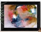Printable wall art, Abstr...