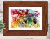 Printable abstract art, W...