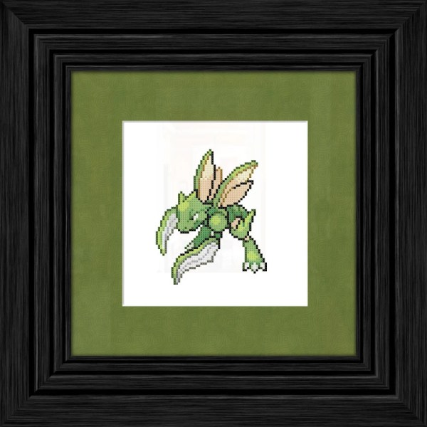 Scyther Pokmon Cross Stitch Pattern Instant Pdf