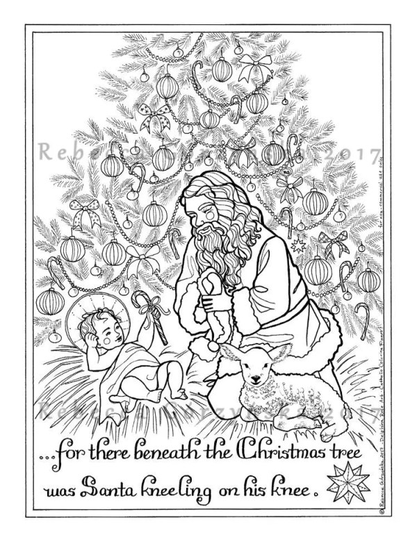 baby jesus coloring page # 62