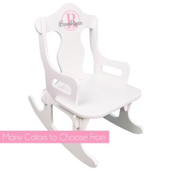 Chair For Toddler Girl Mission Recliner Kids With Name Etsy Girls Personalized Puzzle Rocker White Child S Rocking Monogram Any Color Just Children Small Baby Puzz