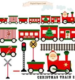 50 christmas train train clipart  [ 900 x 900 Pixel ]