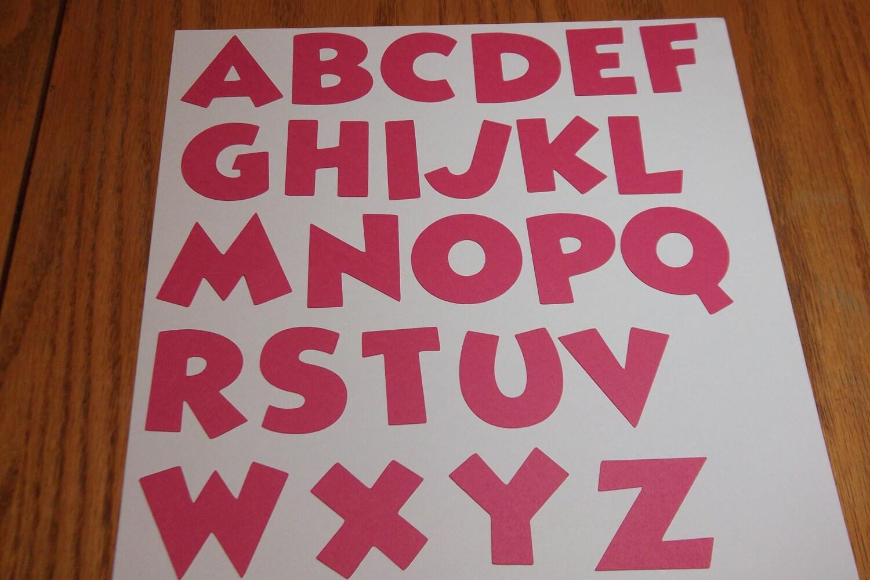 Minnie Mouse Font Alphabet Set