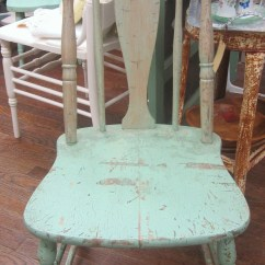 Distressed Kitchen Chairs L Shaped Table Shabby Farmhouse Chair Prairie Cottage Chic Etsy