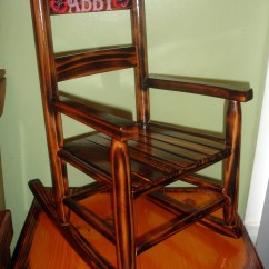 Kids Wood Rocking Chair First Gaming Childs Etsy Kid Size Personalized