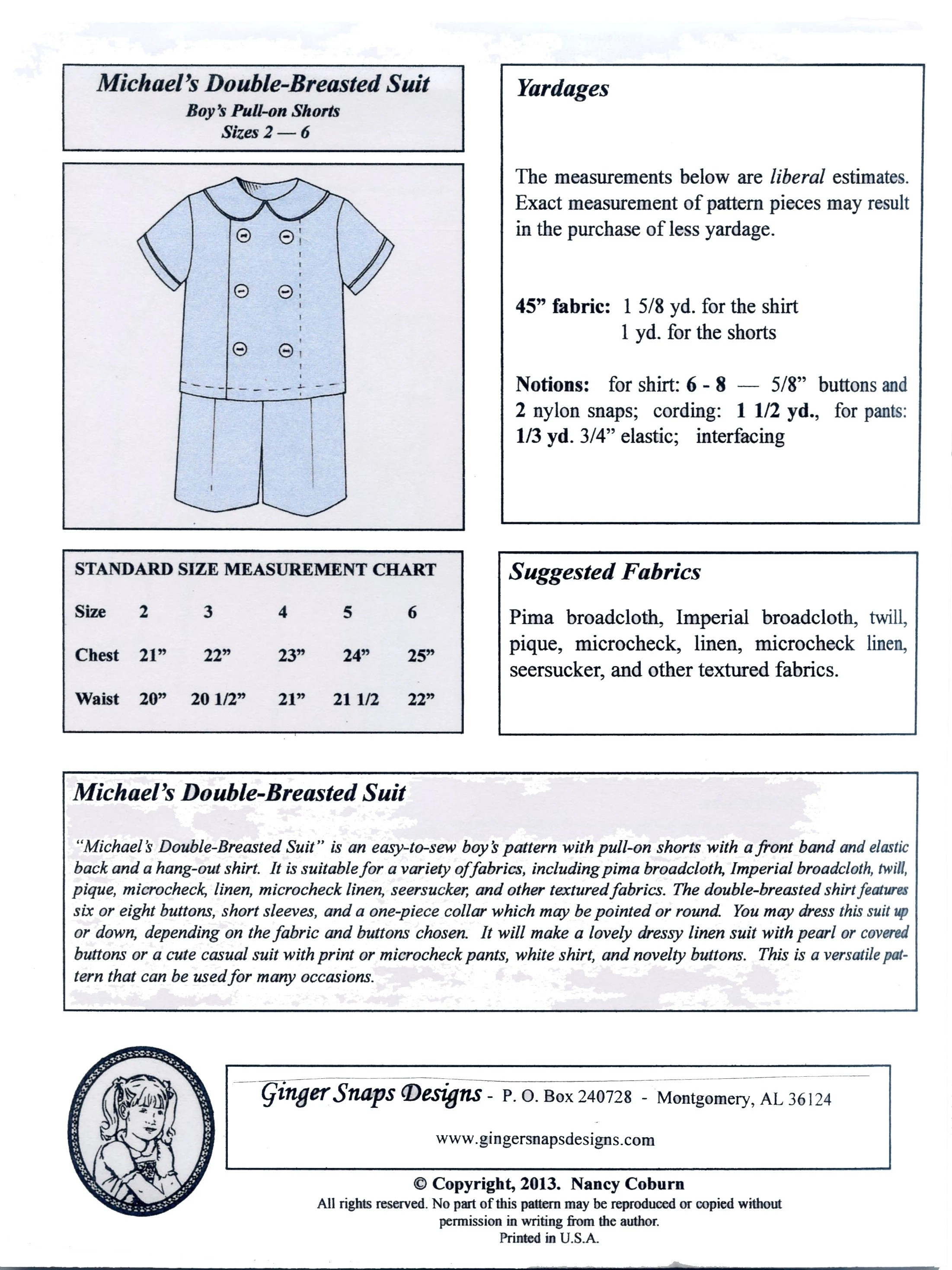 Sew On Snaps Size Chart : snaps, chart, Gingersnaps, Chart, Daval