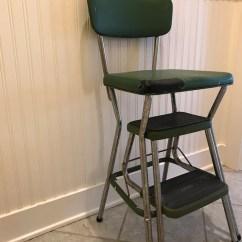 Cosco Kitchen Stool Chair Adirondack Lowes Vintage Green Mid Century 1960s Retro Etsy Image 0