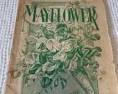 Antique Victorian Era Garden Magazine - The Mayflower - 1898 - Journals, Scrapbook, Mixed Media, Collage, Altered Art - EA37