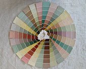 """Paint Chip Sample Strips - 2""""x8.5"""" - Set of 25 Strips - Soft Autumn/Fall Colors - PA14"""