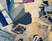 Blue DIY Junk Journal Kit - Everything to Start your Own Junk Journal  JA03