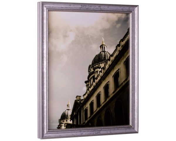 12x36 Ornate Silver Frame Craig Frames Stratton