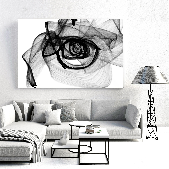black white painting irenaorlov