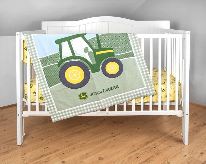 John Deere Crib Bedding by Janddproductions