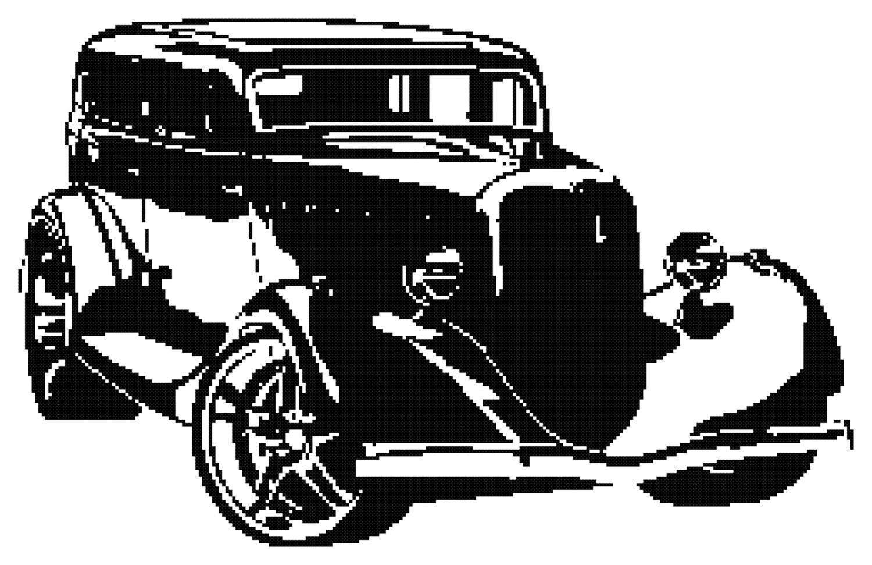 hight resolution of retro hot rod silhouette cross stitch pattern car cross stitch pdf antique car cross stitch pattern boys cross stitch pattern