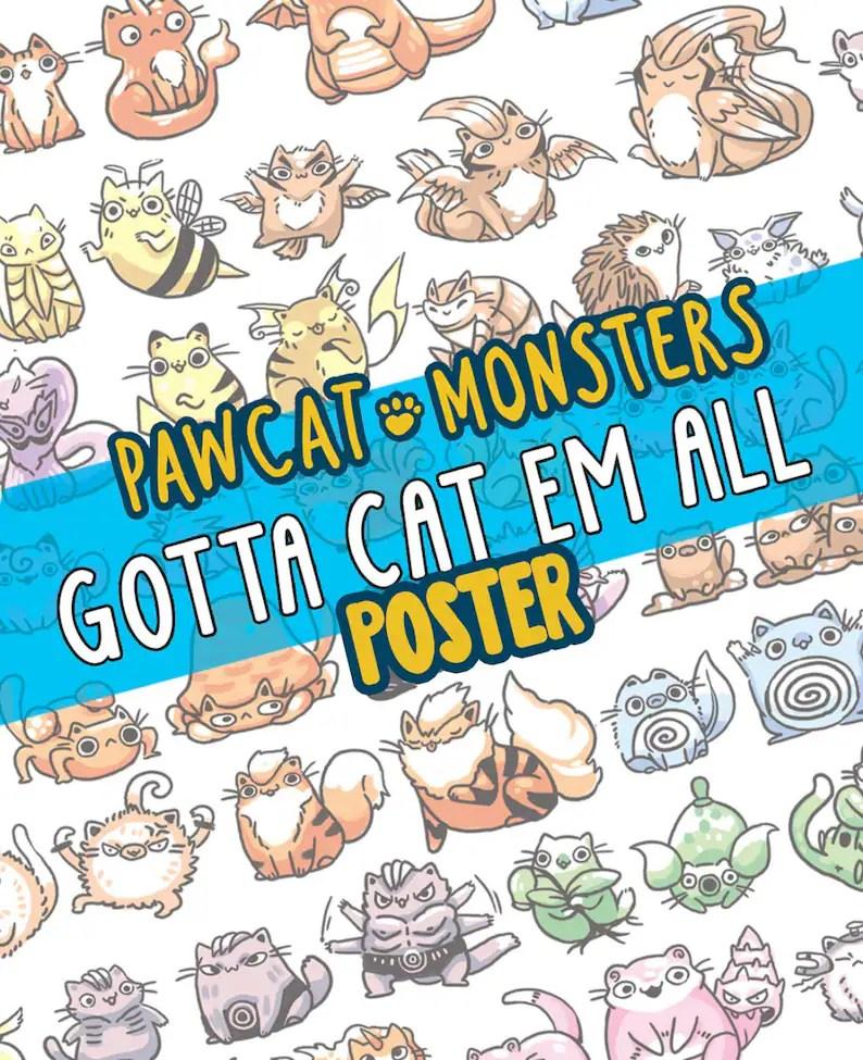 150 pokemon as cats