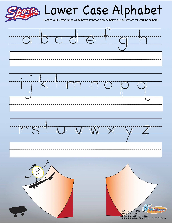 Sports Learning Thumbprint Art Preschool Worksheets Home