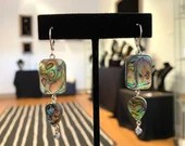 Mally Paua Earrings