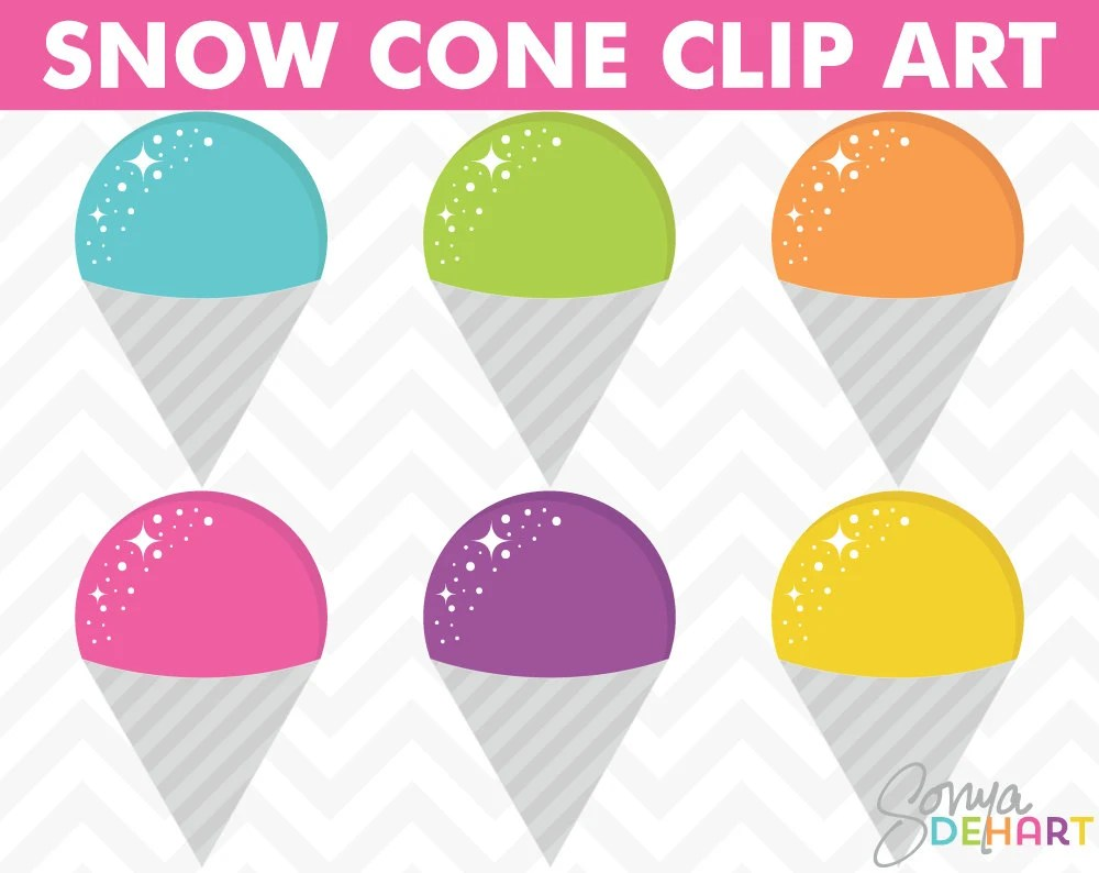 medium resolution of instant download summer clipart clipart snow cones