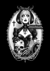 Victorian Gothic Art Dark Art Black and white art nu goth Etsy