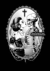 Victorian Gothic Art Dark Art Black and white art goth Etsy