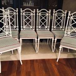 Bamboo Chairs For Sale Wedding Chair Covers Usa Etsy Set Of Six 6 Faux Kessler Style Chinoiserie Local Pick Up Only Or Your Shipper