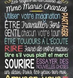 List Of School Rules In French - School Style [ 1010 x 794 Pixel ]