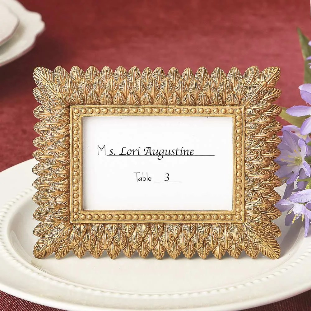 gold leaf frames set
