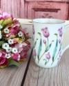 Tulip Pink Mug Etsy