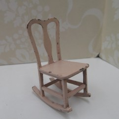 1920s Rocking Chair Hanging Under 100 Vintage Tootsie Toys Pink Dollhouse Etsy Toy Furniture Miniature Metal Collectors 202