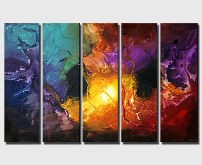 modern abstract painting modern