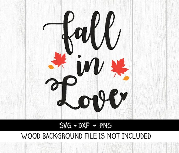 Download Fall in Love SVG Fall in Love cut file Fall in Love PNG | Etsy