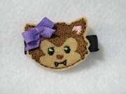 werewolf hair felt feltie embroidery