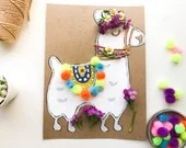 Llama Mini Art Kit