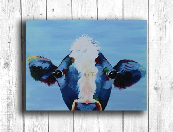 Cow Painting Digital down...