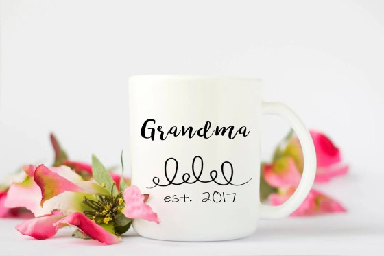 Personalized Grandma Mug,...