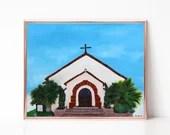 Chapel Painting Digital d...