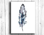 Feather Painting Digital ...