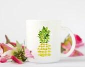Pineapple Mug, Coffee Mug...