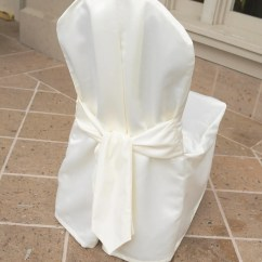 Chair Covers Ivory Target Clearance Elegant Satin Cover With Self Sash Etsy Image 0