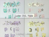 DESIGN Your Own SMALL OWL Mobile | Etsy