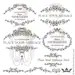 French Country Design Clipart include Vintage Frames