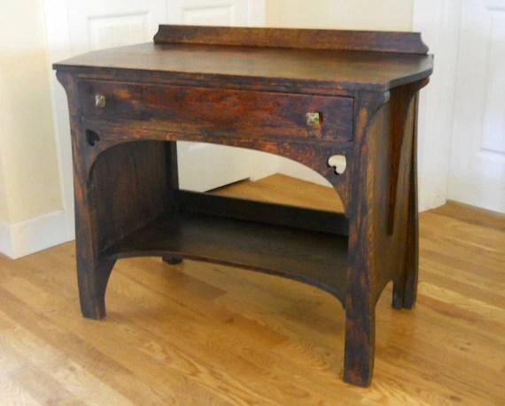 stickley sterling sofa table beds south london antique limbert era luce furniture rare quartersawn etsy image 0