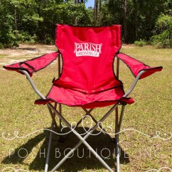 Soccer Mom Covered Chairs Hickory Chair Simone King Bed Custom Folding Personalized Groomsman Gift Camp Etsy Image 0