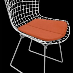 Bertoia Side Chair Modern Bean Bag Chairs Canada Cushion For Miracle Fabric Many Colors Etsy Image 0