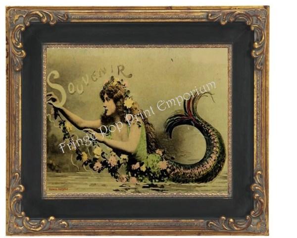 Art Nouveau Mermaid Prints
